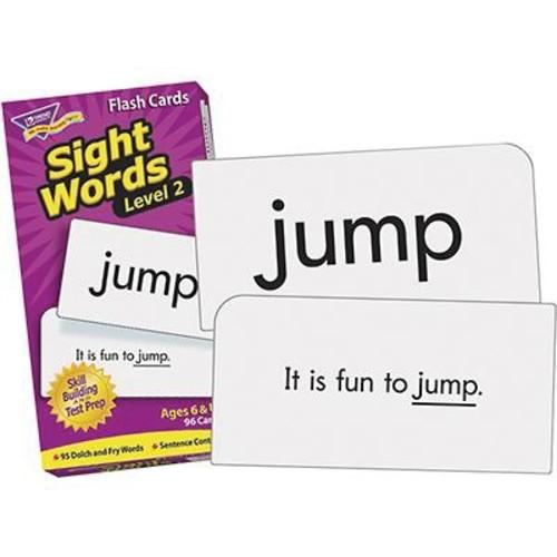 Trend Enterprises Grades 1st - 3rd Sight Words Skill Drill Flash Cards