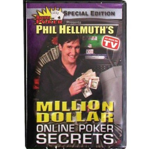 DVD - Phil Hellmuth's Million Dollar Online Poker Secrets (POKER2896)