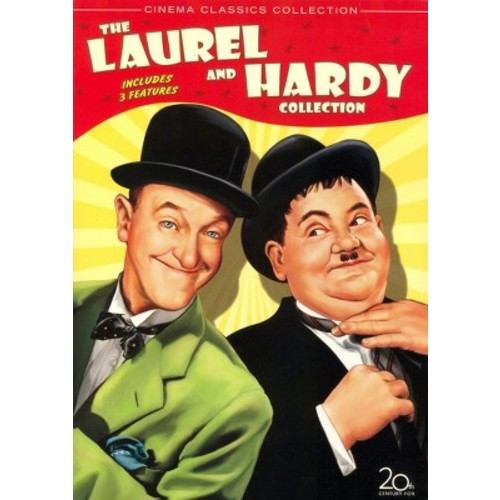 The Laurel and Hardy Collection, Vol. 1: The Big Noise/Great Guns/Jitterbugs [3 Discs]