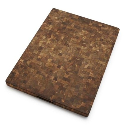 Teakhaus Reversible Teak End Grain Cutting Board
