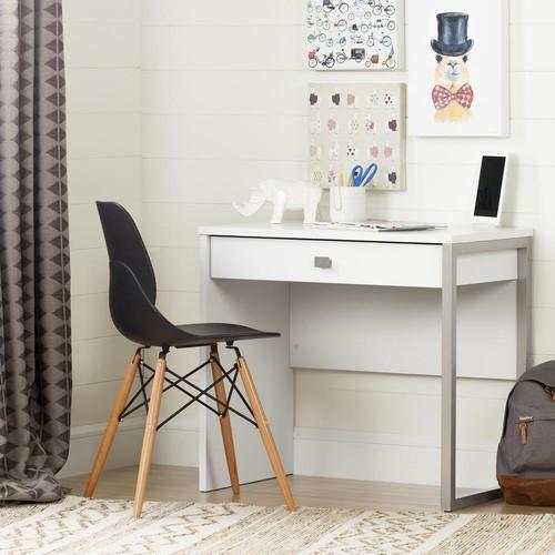 South Shore Interface Pure White Student Desk