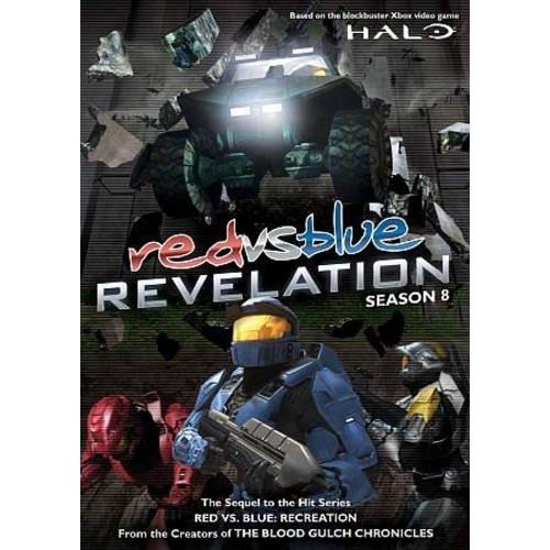 Red Vs. Blue: Revelation Season 8 (DVD)