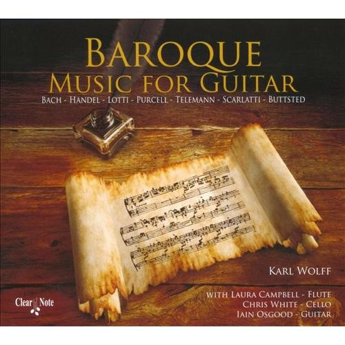 Baroque Music for Guitar [CD]