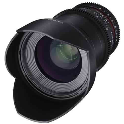 Samyang 35mm T1.5 Cine DS Wide-Angle Lens for Sony E Mount
