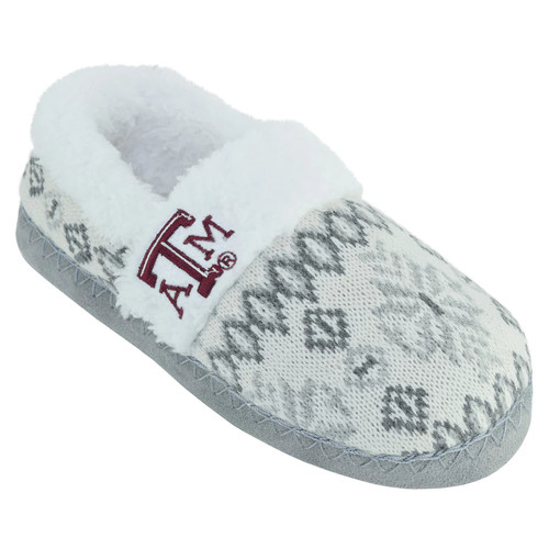 Women's Texas A&M Aggies Snowflake Slippers