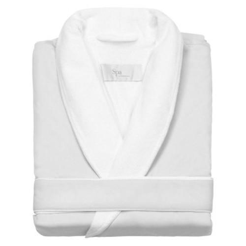Kassatex Spa Bath Robe - White (L/XL)