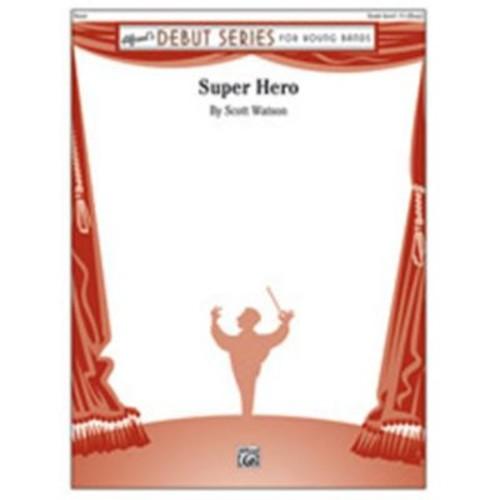 Alfred Super Hero, Conductor Score & Parts - 1.5 - Easy (LFR4077)