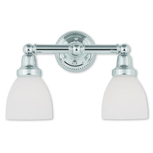 Livex Lighting Classic Polished Chrome 2-light Bath Light