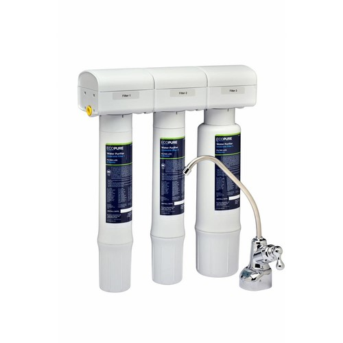EcoPure Water Purifier Under Sink Drinking Water Filter System