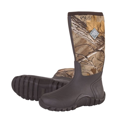 Muck Boots Men's Fieldblazer Realtree Xtra Rubber Hunting Boots