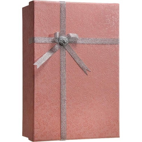 Barska - Gift Box Lock Box with Key Lock - Pink flower