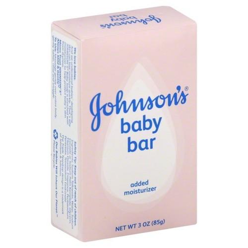 Johnson's Baby Bath Bar Soap, 3 Oz.