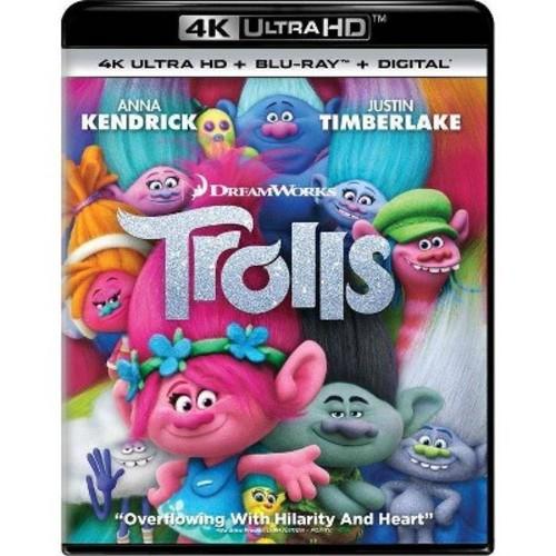 Trolls (4K/UHD + Blu-ray + Digital)