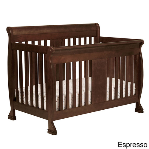 DaVinci Porter 4-In-1 Convertible Crib With Toddler Bed Conversion Kit [Finish : Chestnut Finish]