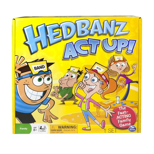 Hedbanz Act Up! Family Board Game