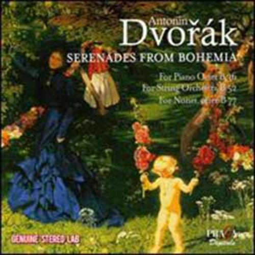 Academy of st Martin-in-the-Fields - Dvorak: Serenades From Bohemia [Audio CD]