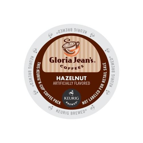 Gloria Jean's Coffees Hazelnut Coffee K-Cups, Box Of 24