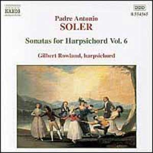Soler: Sonatas for harpsichord Vol.6 By Gilbert Rowland (Audio CD)
