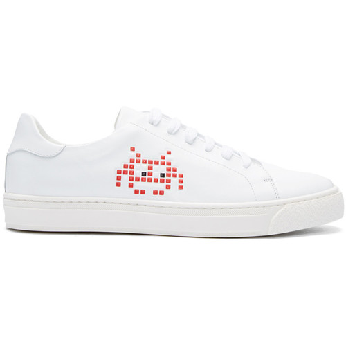 ANYA HINDMARCH White Space Invader Tennis Sneakers