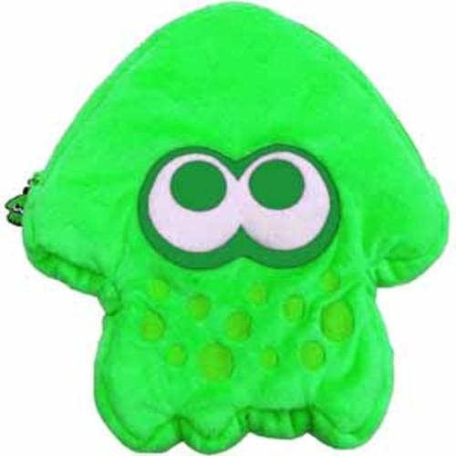 HORI Nintendo Switch Splatoon 2 Plush Pouch - Green