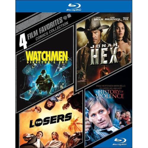 4 Film Favorites: Comics Collection (Blu-ray Disc)
