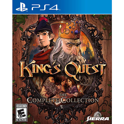 King's Quest: Adventures of Graham The Complete Collection for Sony PS4