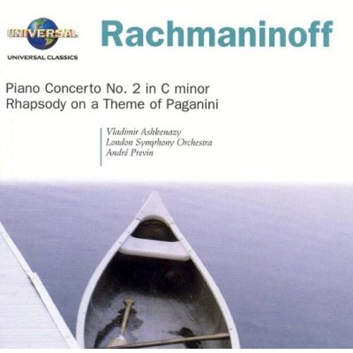 Rachmaninoff: Piano Concerto No. 2 in C minor; Rhapsody on a Theme of Paganini