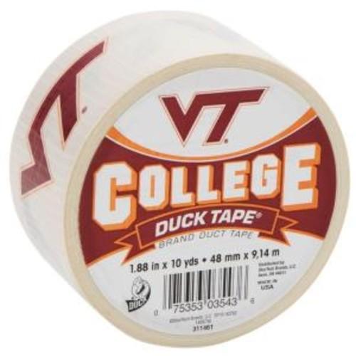 Duck College 1-7/8 in. x 10 yds. Virginia Tech University Duct Tape
