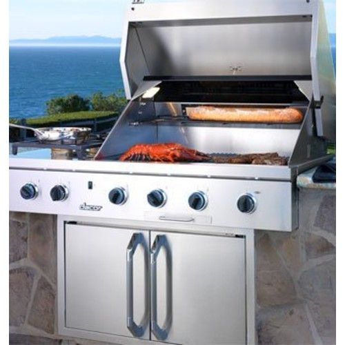 Dacor Stainless Steel Built In Barbecue Grill OBS52LP