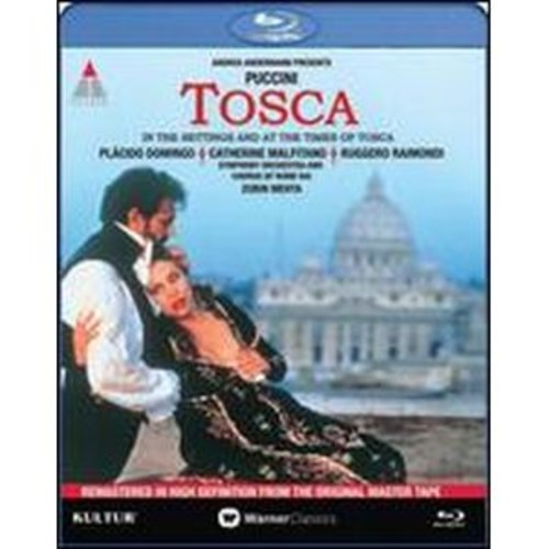 Tosca: In the Settings and at the Times of Tosca [Blu-ray]