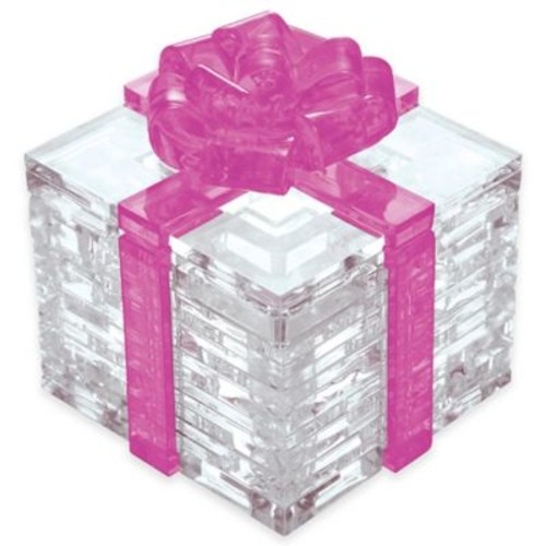 Pink Bow Gift Box 38-Piece Original 3D Crystal Puzzle