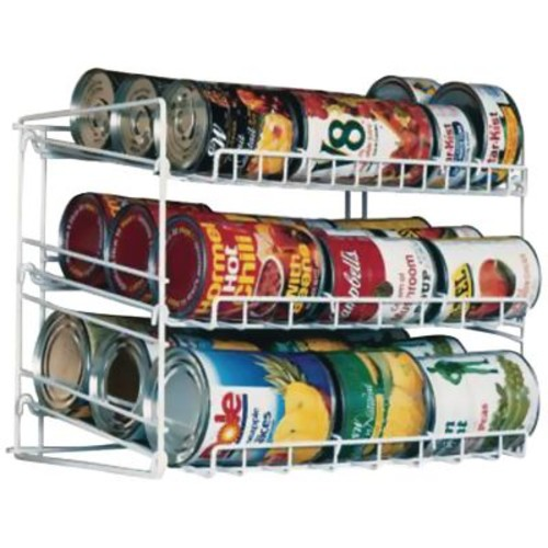 Atlantic 3-Tier Canrack, White