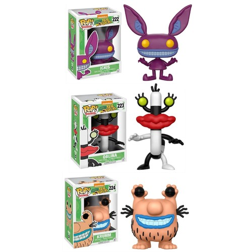 Aaahh!!! Real Monsters Funko POP Collectors Set