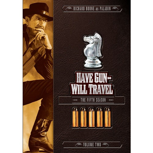 Have Gun - Will Travel: Season 5, Volume 2: Will Travel Have Gun, Richard Boone: Movies & TV