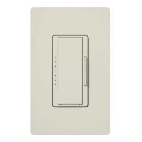 Lutron Maestro 150-Watt Single-Pole/3-Way/Multi-Location Digital CFL-LED Dimmer - Light Almond