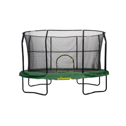 JUMPKING 8 ft. by 12 ft. Green Trampoline Enclosure Combo