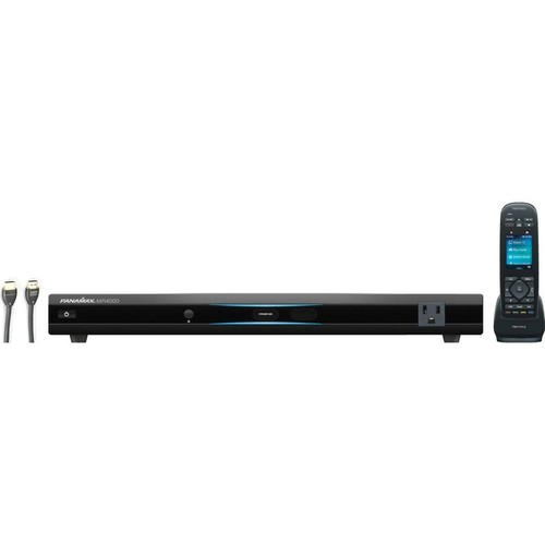 A/V Receiver Premium Connect and Protect Kit Includes an HDMI cable, Panamax component-style surge protector, and Logitech Harmony 950 remote