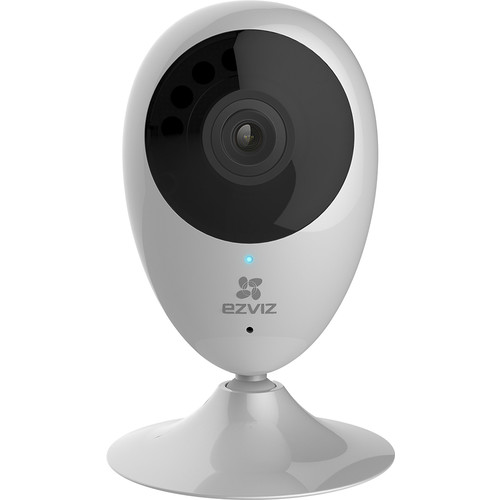 EZVIZ - Mini O Indoor 720p Wi-Fi Network Surveillance Camera - White