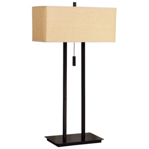 Kenroy Home Emilio 29 in. Bronze Table Lamp