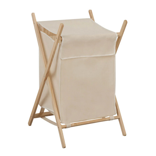 Honey-Can-Do Folding Wooden Hamper