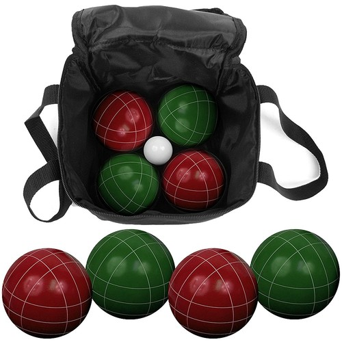 Trademark Games Bocce Ball Set with Nylon Bag, 9pc