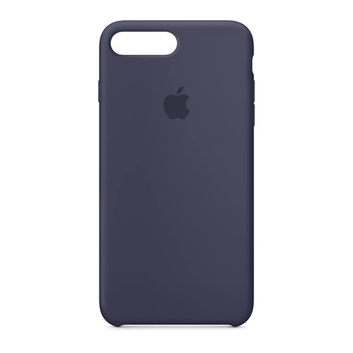 Apple - iPhone 7 Silicone Case - Midnight Blue