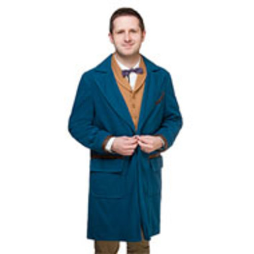 Fantastic Beasts and Where to Find Them Newt Jacket Vest Tie XLarge