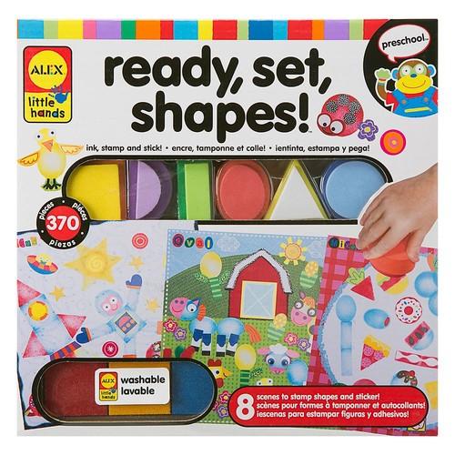 ALEX Little Hands Ready, Set, Shapes