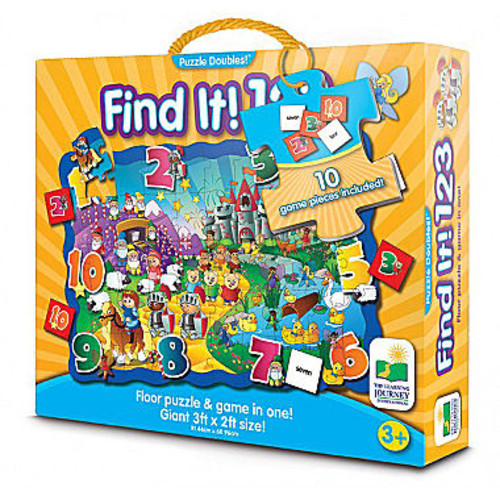 The Learning Journey Puzzle Doubles - Find It! 123