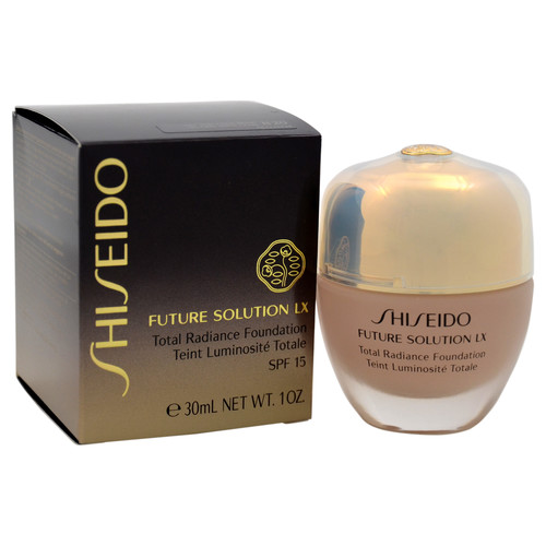 Shiseido Future Solution LX Total Radiance Foundation SPF 15 - # B20 Natural Light Beige by for Women - 1 oz Foundation