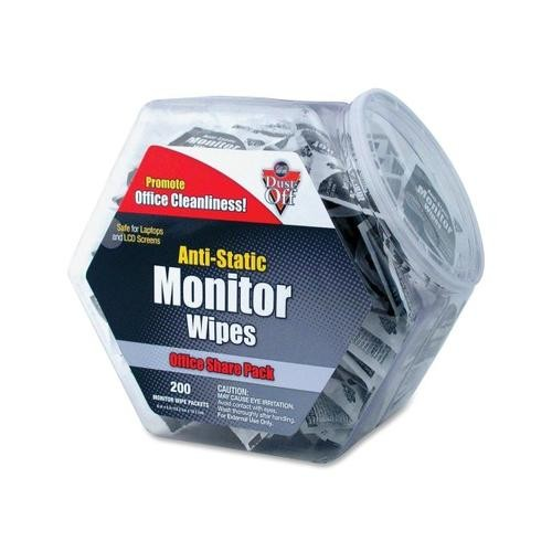 Falcon Safety Products Falcon Monitor Wipes Office Share Pack - DMHJ FALDMHJ