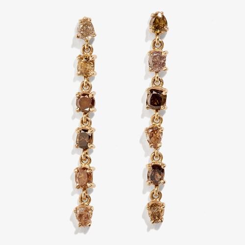 Xiao Wang Diamond Stardust Dangle Earring