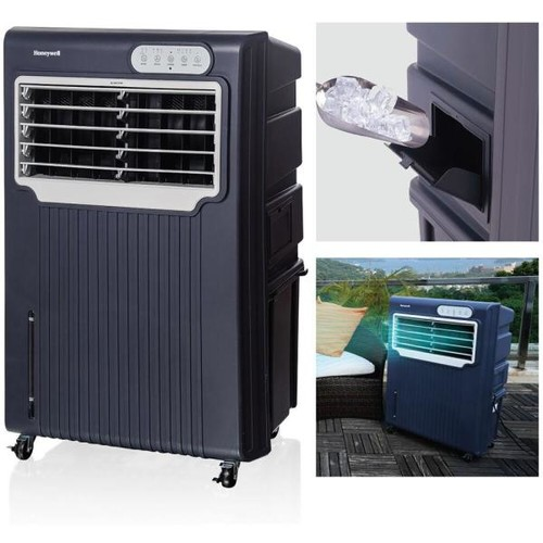 Honeywell 588 CFM 3-Speed Portable Evaporative Air Cooler for 342 sq. ft.