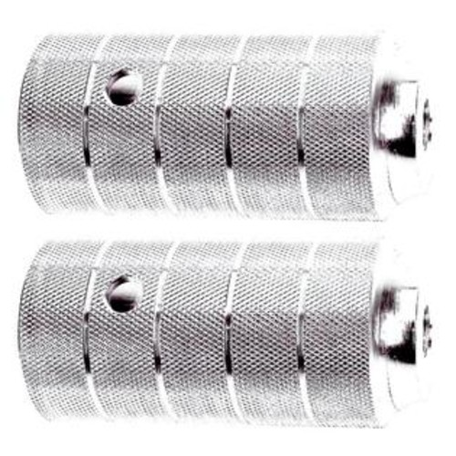 Novatec Alloy Oversized Silver Pegs for 14 mm axle - 329984 (Silver)